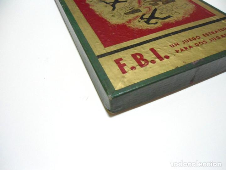 Juegos de mesa: FBI UN JUEGO TACTICO - FRANCISCO ROSSELLO - JUEGOS CRONE AÑOS 50 - JUEGO DE MESA F.B.I. COMPLETO - Foto 10 - 143664550