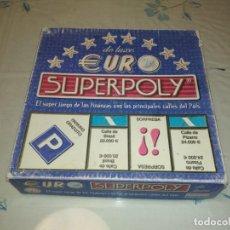 Juegos de mesa: JUEGO DE MESA EURO SUPERPOLY. Lote 143823734