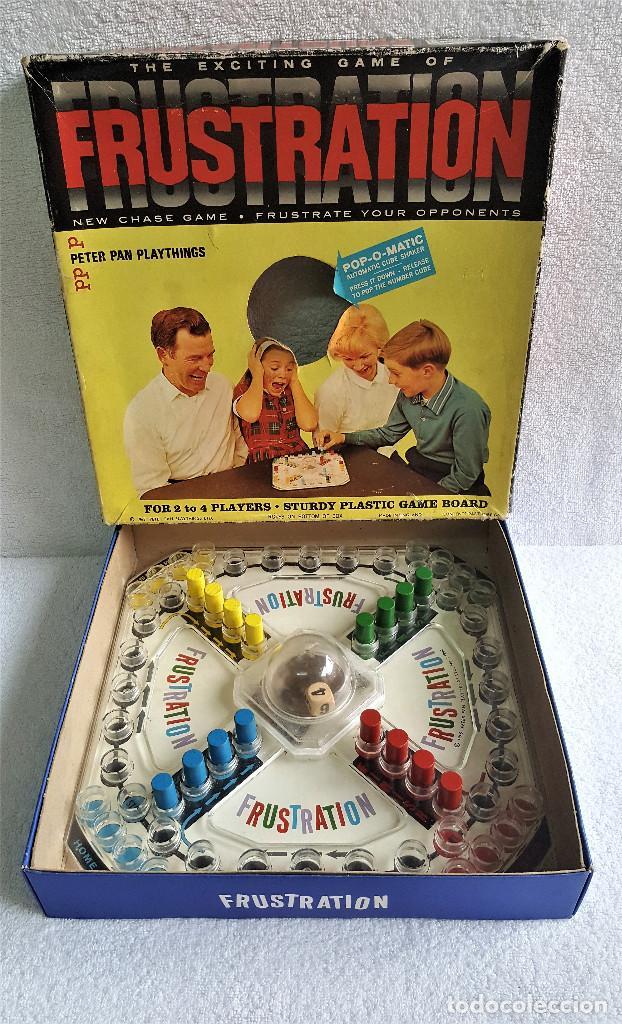 Juego De Mesa Retro Vintage Frustration De Pete Comprar Juegos De