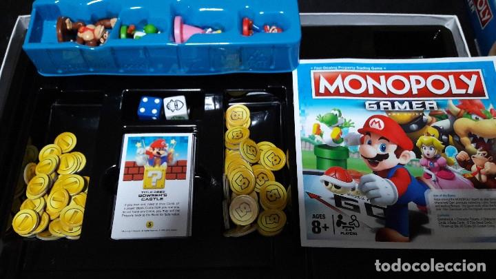 Monopoly Gamer Edicion Mario En Ingles Buen Est Comprar Juegos De