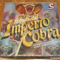 Juegos de mesa: EN BUSCA DEL IMPERIO COBRA DE CEFA. Lote 144045794