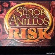 Juegos de mesa: EL SEÑOR DE LOS ANILLOS , RISK , PARKER , COMPLETO. Lote 144138530