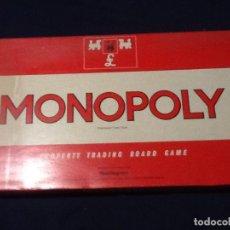 Juegos de mesa: MONOPOLY . ANTIGUA EDICION UK CAJA GRANDE COMPLETO. Lote 144160770