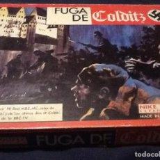 Juegos de mesa: FUGA DE COLDITZ DE NAC. JUEGO DE MESA. COMPLETO. Lote 144160962