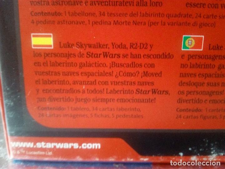 Juegos de mesa: STAR WARS LABYRINTH-DISNEY-RAVENSBURGER-COMPLETO- - Foto 13 - 144214982