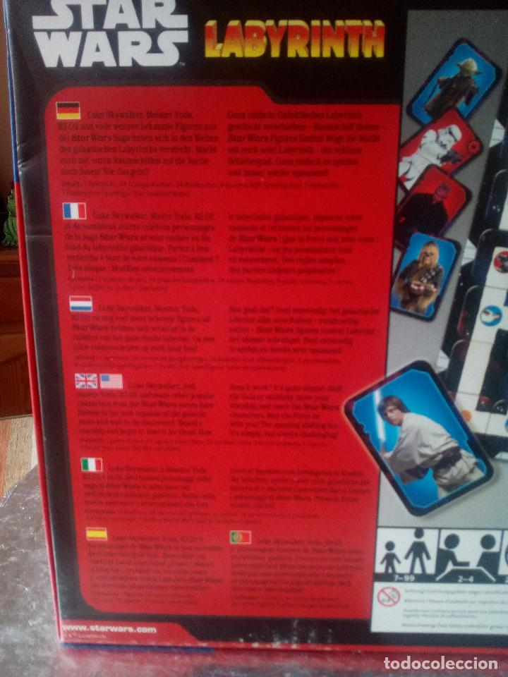 Juegos de mesa: STAR WARS LABYRINTH-DISNEY-RAVENSBURGER-COMPLETO- - Foto 16 - 144214982