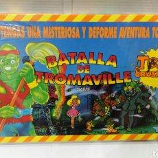 Jogos de mesa: BATALLA DE TROMAVILLE.FALOMIR.EL VENGADOR TÓXICO.TOXIC CRUSADERS.NUEVO EN CAJA.PRECINTADO.TROMA.1992. Lote 144286502