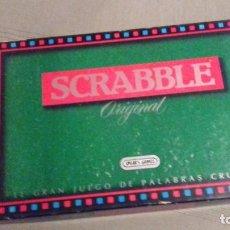 Juegos de mesa: SCRABBLE ORIGINAL. EL GRAN JUEGO DE PALABRAS CRUZADAS. 1988. SPEAR'S GAMES. BORRAS.. Lote 171453652