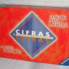 Juegos de mesa: JUEGO CIFRAS Y LETRAS. Lote 144584946