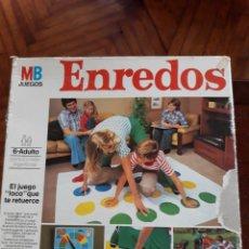 Juegos de mesa: JUEGO ENREDOS DE MB COMPLETO. Lote 144610324