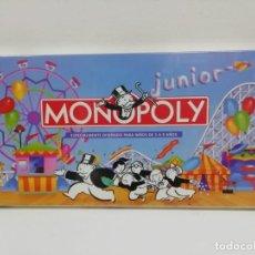 Juegos de mesa: JUEGO MONOPOLY JUNIOR MB PARKER 1992 PRECINTADO. Lote 144669762