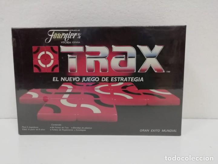 JUEGO ESTRATEGIA TRAX FOURNIER 1985 PRECINTADO ALMACEN (Juguetes - Juegos - Juegos de Mesa)