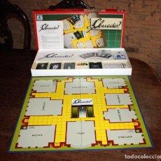 Juegos de mesa: ANTIGUO JUEGO CLUEDO DE BORRAS - CON INSTRUCCIONES - BUEN ESTADO. Lote 144724490