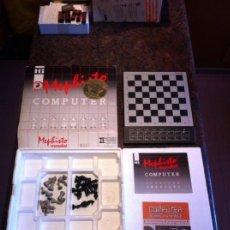Juegos de mesa: COMPUTADORA DE AJEDREZ MEPHISTO MONDIAL - CHESS COMPUTER - SCHACHCOMPUTER. Lote 144818206