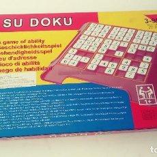 Juegos de mesa: SUDOKU SOBREMESA. Lote 145058610
