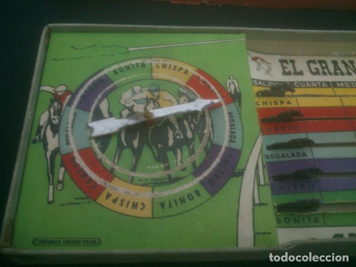 Juegos de mesa: Juego antiguo de mesa Juego antiguo de mesa El Gran Premio Derby Carreras de Caballos. Años 1950. - Foto 3 - 145115058