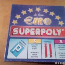 Juegos de mesa: (6059) EURO SUPERPOLY- JUEGO DE MESA COMPLETO. Lote 145118578