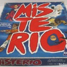 Juegos de mesa: JUEGO DE MESA MISTERIO, CEFA, AÑOS 80. Lote 145131044