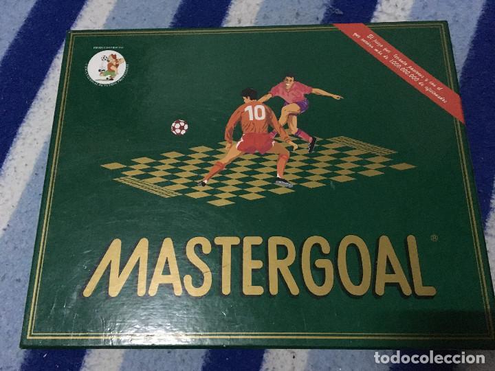 MASTERGOAL 1992 MASTER GOAL JUEGO DE MESA COMPLETO CAJA KREATEN (Juguetes - Juegos - Juegos de Mesa)