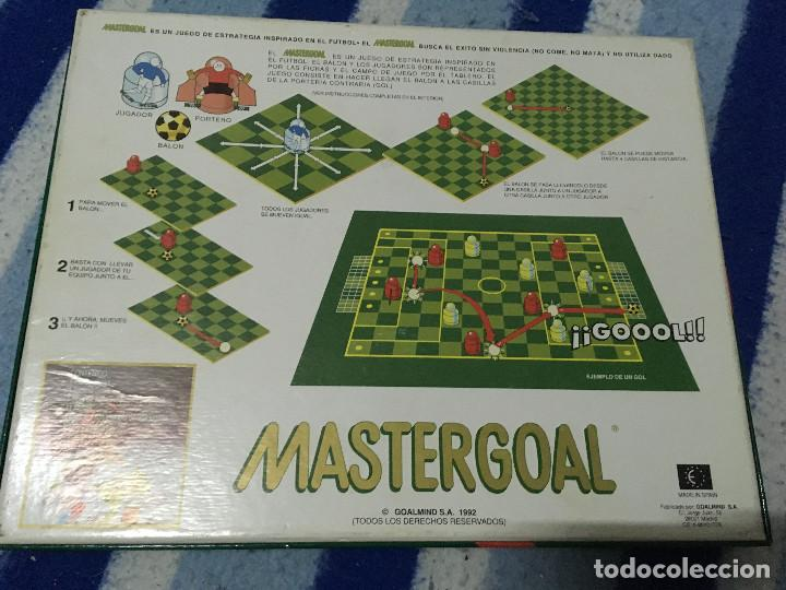 Juegos de mesa: MASTERGOAL 1992 MASTER GOAL JUEGO DE MESA COMPLETO CAJA KREATEN - Foto 2 - 145288010