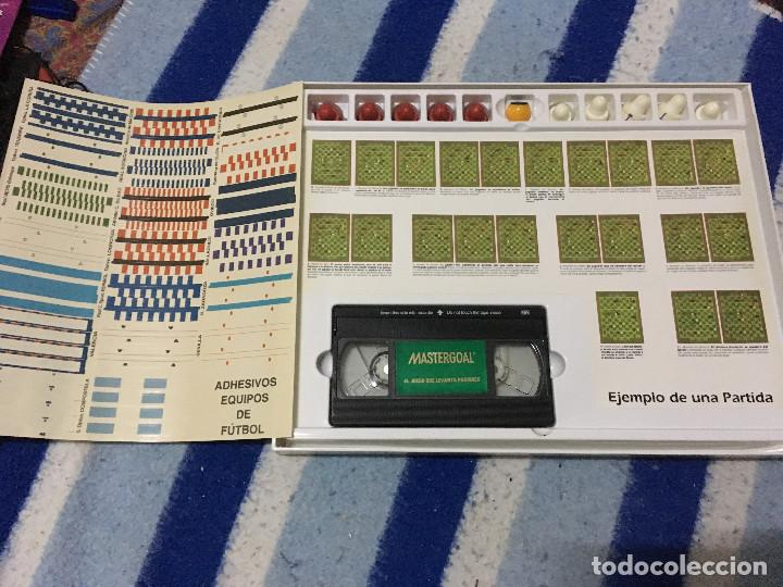 Juegos de mesa: MASTERGOAL 1992 MASTER GOAL JUEGO DE MESA COMPLETO CAJA KREATEN - Foto 5 - 145288010