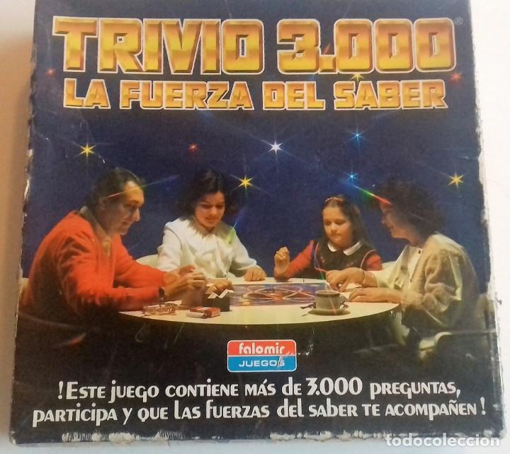 TRIVIO 3000 LA FUERZA DEL SABER (Juguetes - Juegos - Juegos de Mesa)