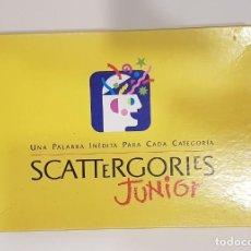 Juegos de mesa: JUEGO SCATTERGORIES JUNIOR - MB JUEGOS. Lote 145428286