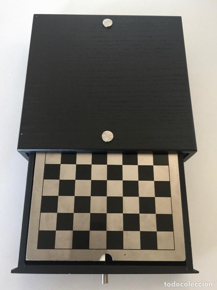 Juego Ajedrez Damas Backgammon Tablero Peones Comprar Juegos De