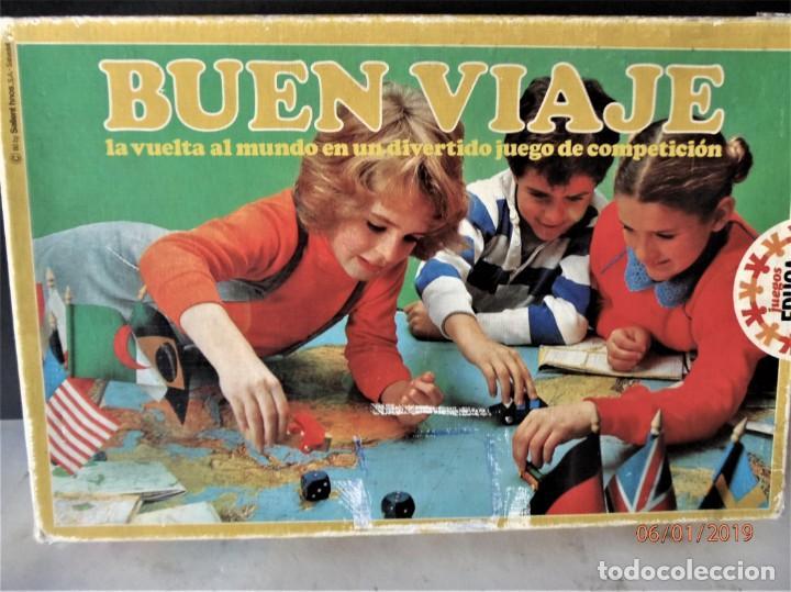 Juego De Mesa Buen Viaje De Educa Anos 70 Comprar Juegos De Mesa