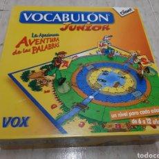 Juegos de mesa: VOCABULON JUNIOR MARCA DISET. Lote 145923834