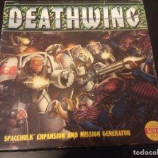 Juegos de mesa: JUEGO DE MESA SPACE HULK: DEATHWING GAMES WORKSHOP. Lote 145937766