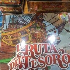 Juegos de mesa: LA RUTA DEL TESORO CEFA JUEGO DE MESA NUEVO PRECINTADO. Lote 195337527