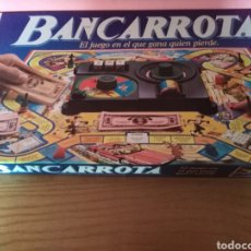 Juegos de mesa: JUEGO DE MESA BANCARROTA. Lote 146022384