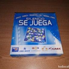 Juegos de mesa: SILENCIO SE JUEGA. Lote 146024722