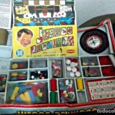 Juegos de mesa: JUEGOS REUNIDOS GEYPER **INCOMPLETO **. Lote 146595730