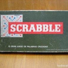 Juegos de mesa: JUEGO DE MESA . JUEGO SCRABBLE DE BORRAS. Lote 146652794