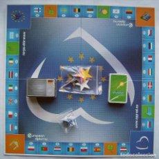 Juegos de mesa: JUEGO EUROPEO. DESPLEGADO 48 X 48 CMS.. Lote 146666862