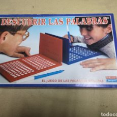 Juegos de mesa: DESCUBRIR LAS PALABRAS DE FALOMIR JUEGOS NUEVO. Lote 146948476