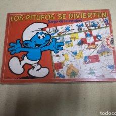 Juegos de mesa: LOS PITUFOS SE DIVIERTEN DE EDUCA. Lote 146949776