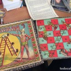 Juegos de mesa: LA ESCALERA ( BORRAS) (J-1). Lote 147040246