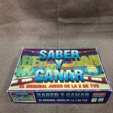 Juegos de mesa: JUEGO DE MESA SABER Y GANAR. Lote 147370366