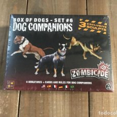 Juegos de mesa: JUEGO DE MESA - DOG COMPANIONS - EXPANSIÓN ZOMBICIDE - SET 6 - EDGE - CMON. Lote 147542034