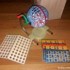 Juegos de mesa: JUGUETE BINGO DE PLÁSTICO. AÑOS 60-70, COMPLETO. Lote 147607718