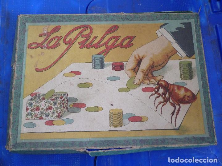 JUEGO LA PULGA (Juguetes - Juegos - Juegos de Mesa)