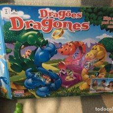 Juegos de mesa: DRAGONES TRAGABOLAS TRAGA BOLAS ANILLOS TRAGANILLOS JUEGO MESA INFANTIL KREATEN. Lote 147771550