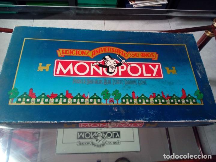 JUEGO MONOPOLY EDICIÓN 50 ANIVERSARIO (Juguetes - Juegos - Juegos de Mesa)