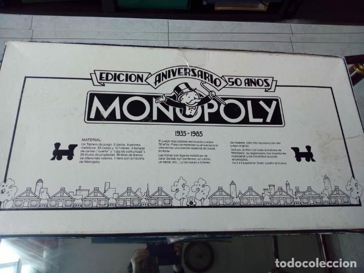 Juegos de mesa: Juego Monopoly Edición 50 Aniversario - Foto 3 - 147777646