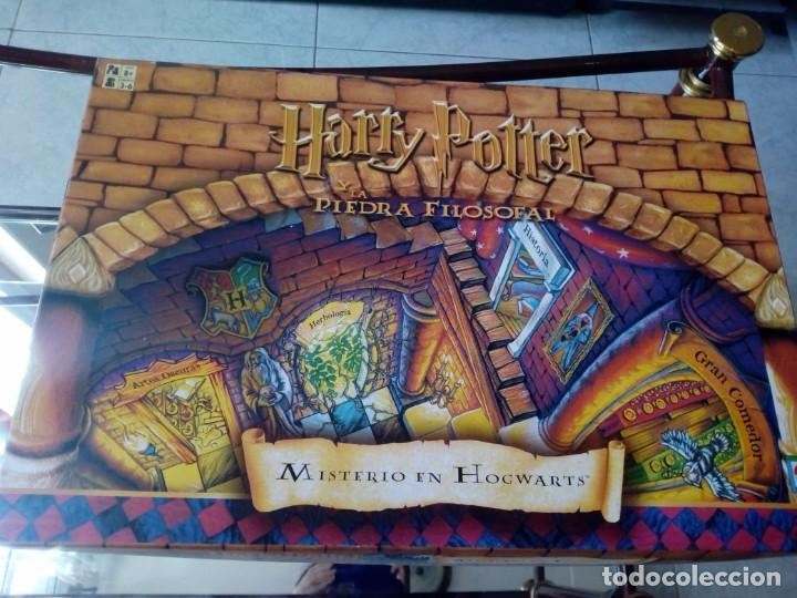 HARRY POTTER Y LA PIEDRA FILOSOFAL. MISTERIO EN HOGWARTS. 2001 (Juguetes - Juegos - Juegos de Mesa)