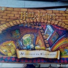 Juegos de mesa: HARRY POTTER Y LA PIEDRA FILOSOFAL. MISTERIO EN HOGWARTS. 2001. Lote 147778374