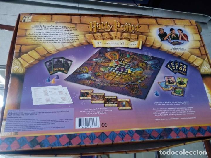 Juegos de mesa: Harry Potter y la piedra filosofal. Misterio en Hogwarts. 2001 - Foto 2 - 147778374